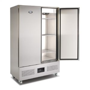 Foster Double Door Undermounted Upright Meat Chiller