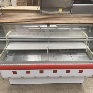 Zasilanie Chilled Serve Over and Display Cabinet