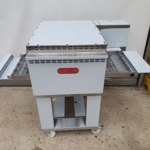 Zanolli Synthesis Electric pizza conveyor oven on a stand