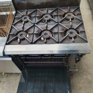 Blue Seal Gas 6 Burnerwithconvectionoven