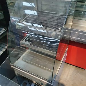 Counterline Drop in heated display cabinet