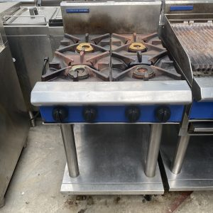 4 Gas Burners Cooktop on Leg Stand