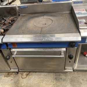 Gass Flat Grill with oven